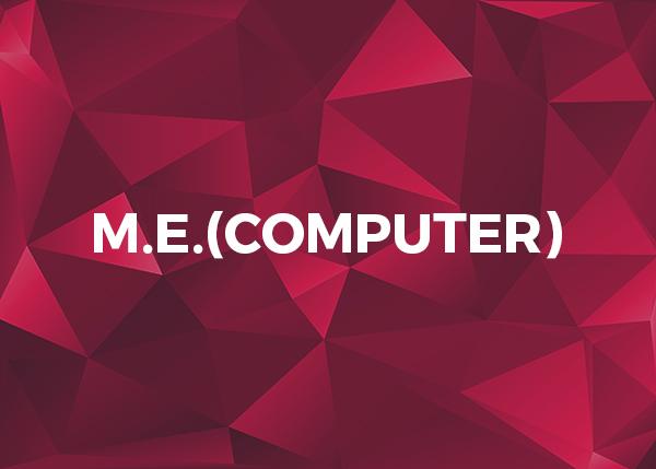 M.E.(Computer)