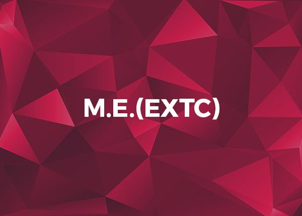 M.E.(EXTC)